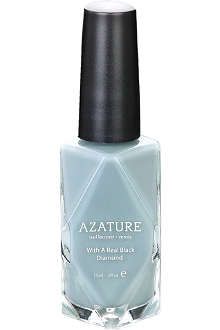 AZATURE Grey Diamond nail polish