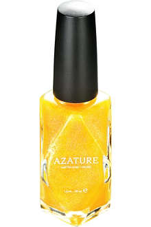 AZATURE Canary Diamond nail polish