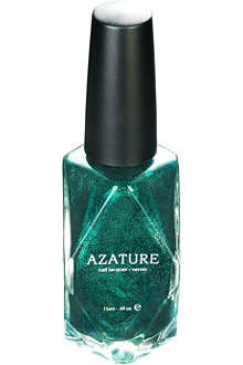 AZATURE Green Diamond nail polish