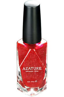 AZATURE Red Diamond nail polish