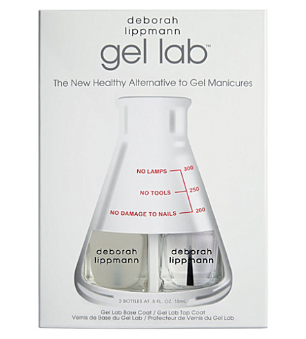 DEBORAH LIPPMANN Gel Lab base and top coat
