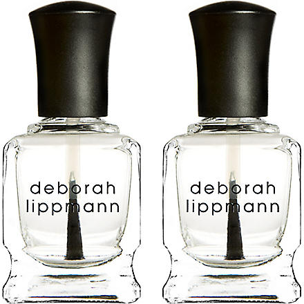 DEBORAH LIPPMANN Rock & Roll base and top coat mini duet