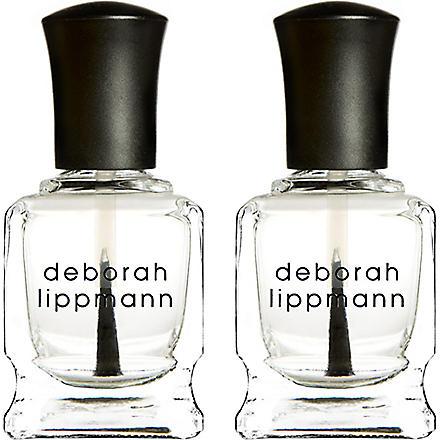 DEBORAH LIPPMANN Rock & Roll base and top coat mini duet