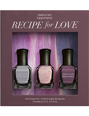 DEBORAH LIPPMANN Recipe for Love nail polish set