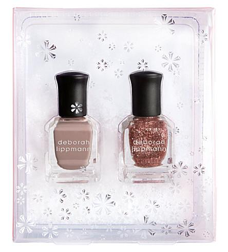 DEBORAH LIPPMANN Roses In The Snow nail polish set