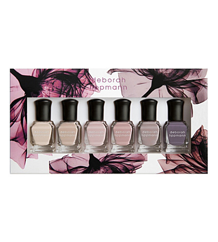 DEBORAH LIPPMANN Bed of Roses nail polish set (Mix+of+roses