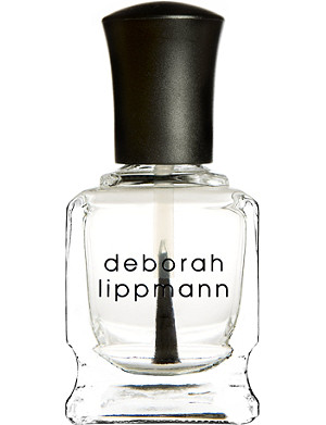 DEBORAH LIPPMANN Hard Rock nail strengthening base and top coat