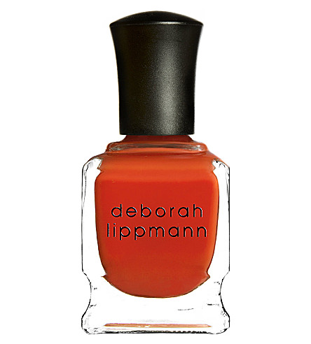 DEBORAH LIPPMANN Crème nail polish limited edition (Don't+stop+believein