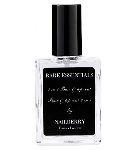 NAILBERRY Bare Essentials 2 in 1 Base & Top Coat (Bare+essentials