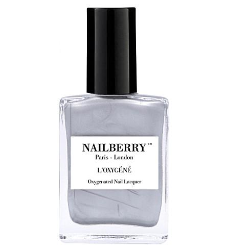NAILBERRY L'Oxygéné nail polish (Silver+lining