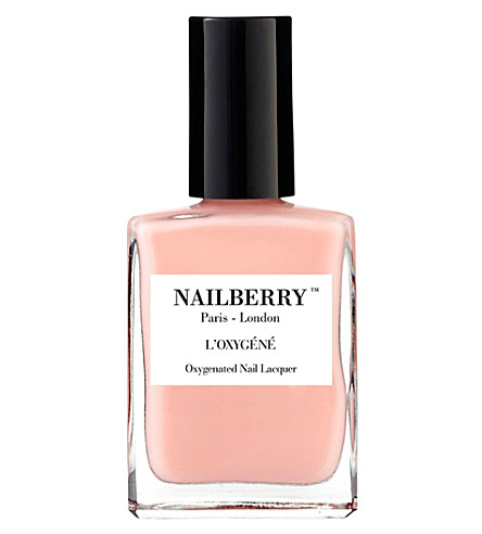 NAILBERRY L'Oxygéné nail polish (A+touch+of+powder