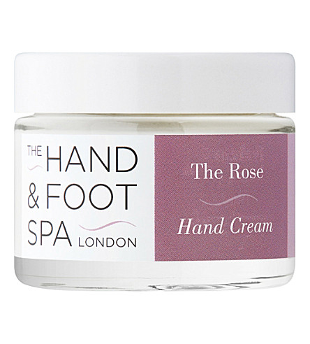 THE HAND AND FOOT SPA Damask rose hand cream 50g