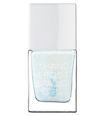 THE HAND AND FOOT SPA Blue Shimmer professional nail polish