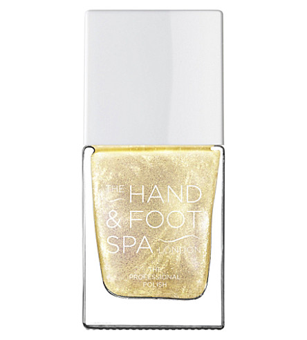THE HAND AND FOOT SPA Gold Pearl professional nail polish