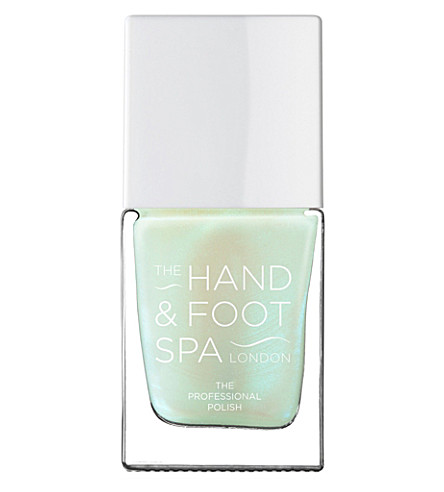 THE HAND AND FOOT SPA Green Pearl professional nail polish