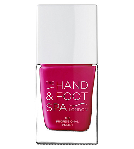THE HAND AND FOOT SPA Soft Red professional nail polish
