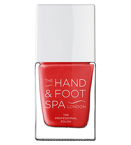 THE HAND AND FOOT SPA Scarlett Red professional nail polish