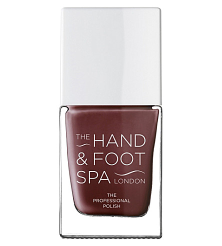 THE HAND AND FOOT SPA Garnet professional nail polish