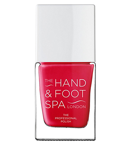 THE HAND AND FOOT SPA Tomato Red professional nail polish