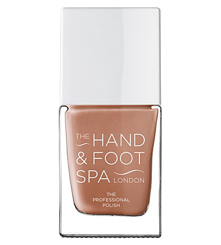 THE HAND AND FOOT SPA Tan professional nail polish