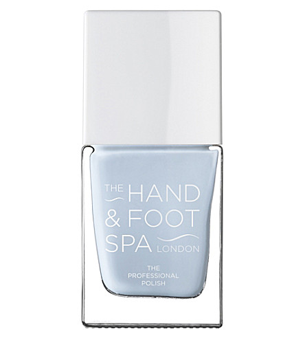 THE HAND AND FOOT SPA Baby Blue professional nail polish