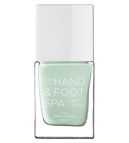 THE HAND AND FOOT SPA Pastel Green professional nail polish