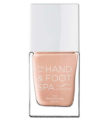 THE HAND AND FOOT SPA Blanched Almond professional nail polish