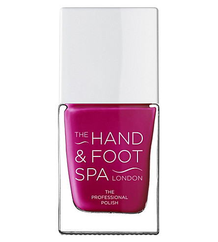 THE HAND AND FOOT SPA Raspberry professional nail polish