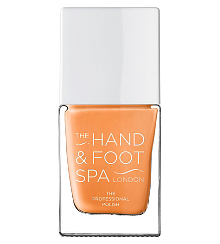 THE HAND AND FOOT SPA Peach professional nail polish