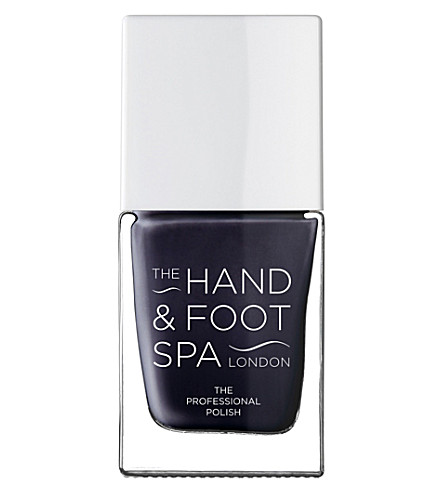 THE HAND AND FOOT SPA Navy Blue professional nail polish