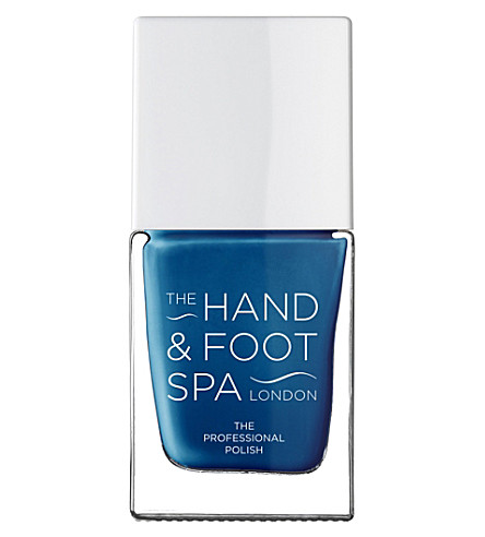 THE HAND AND FOOT SPA Ocean Blue professional nail polish