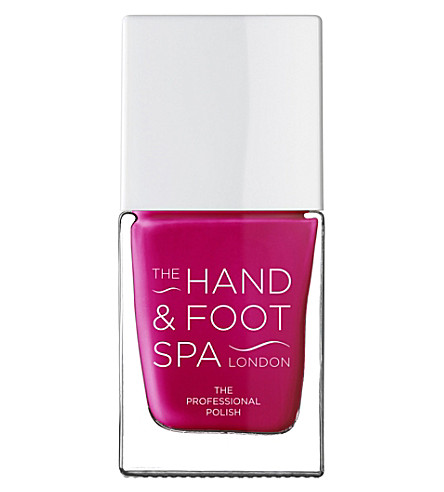 THE HAND AND FOOT SPA Boysenberry professional nail polish