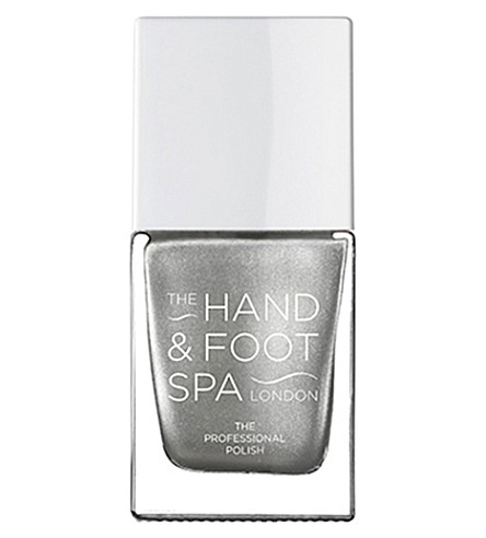 THE HAND AND FOOT SPA Silver chrome professional nail polish