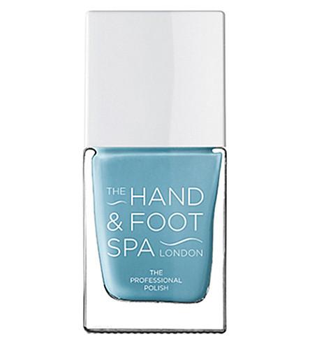 THE HAND AND FOOT SPA Aqua blue professional nail polish