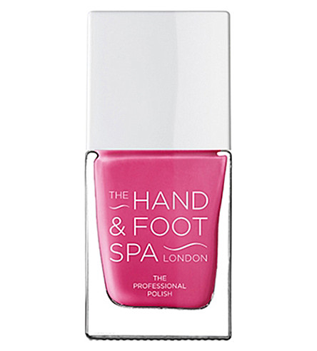 THE HAND AND FOOT SPA Hot pink professional nail polish