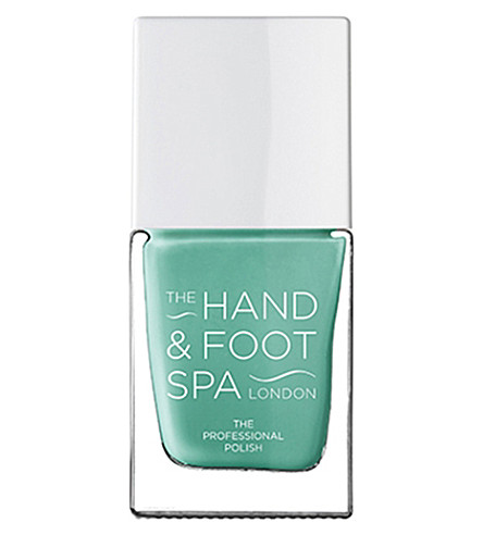 THE HAND AND FOOT SPA Pale green professional nail polish