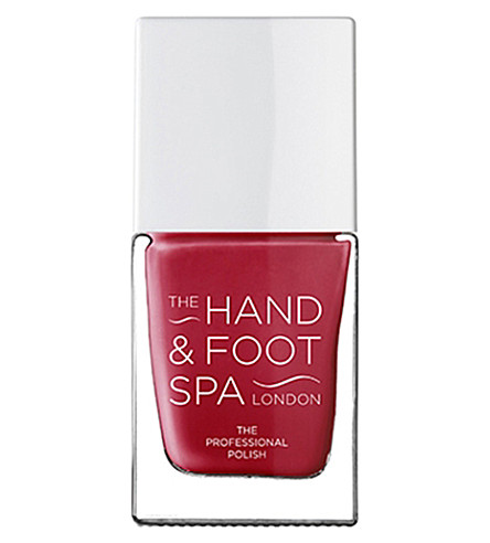 THE HAND AND FOOT SPA Berry red professional nail polish