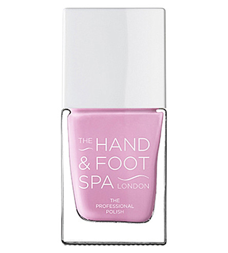 THE HAND AND FOOT SPA African violet professional nail polish
