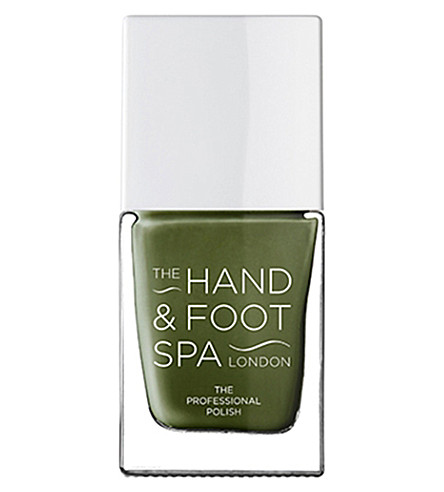 THE HAND AND FOOT SPA Khaki professional nail polish