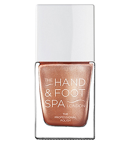 THE HAND AND FOOT SPA Bronze chrome professional nail polish