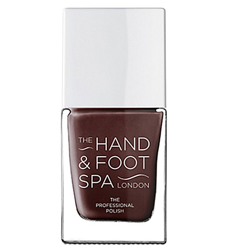 THE HAND AND FOOT SPA Black rose professional nail polish