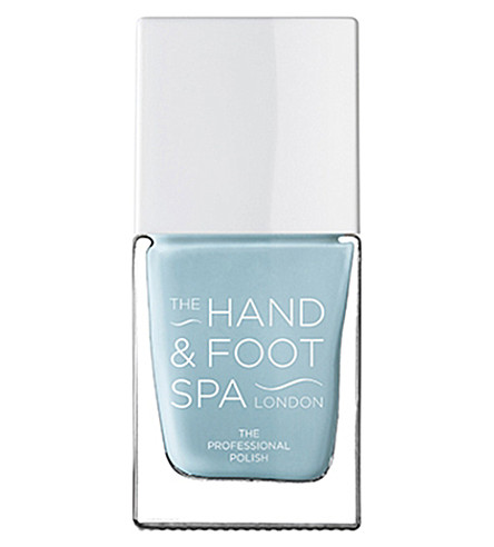 THE HAND AND FOOT SPA Pacific blue professional nail polish