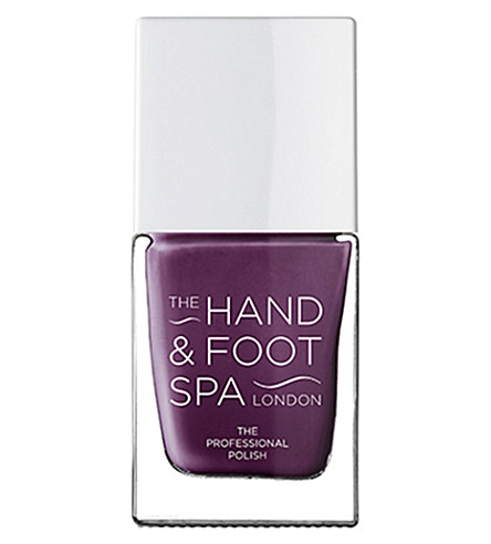 THE HAND AND FOOT SPA Aubergine professional nail polish