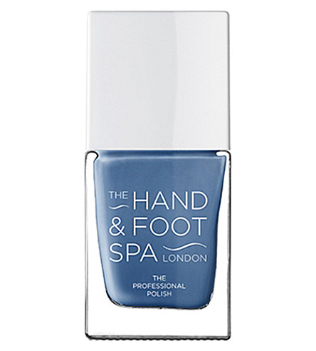 THE HAND AND FOOT SPA Denim blue professional nail polish
