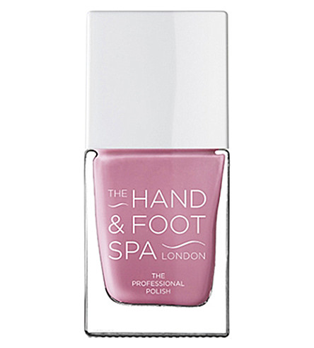THE HAND AND FOOT SPA Heather professional nail polish