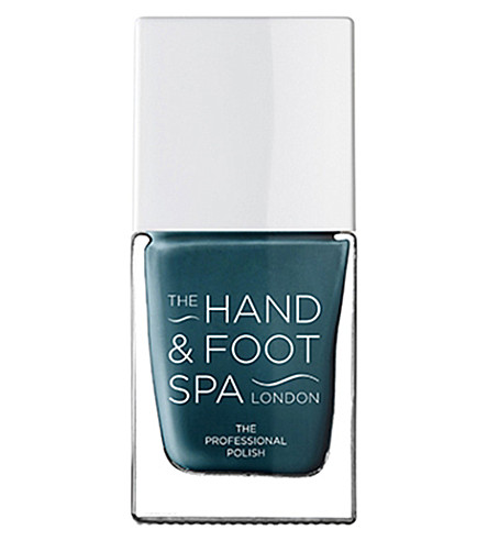 THE HAND AND FOOT SPA Aiforce Blue professional nail polish