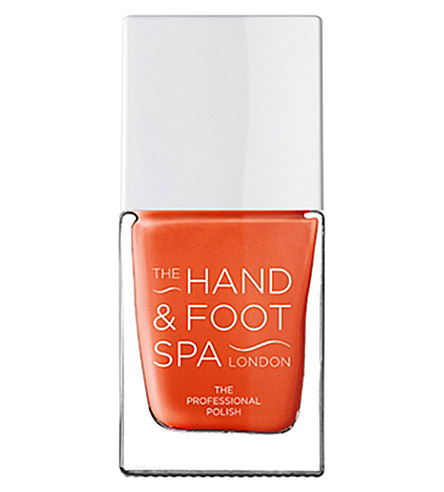 THE HAND AND FOOT SPA Perfect Orange professional nail polish