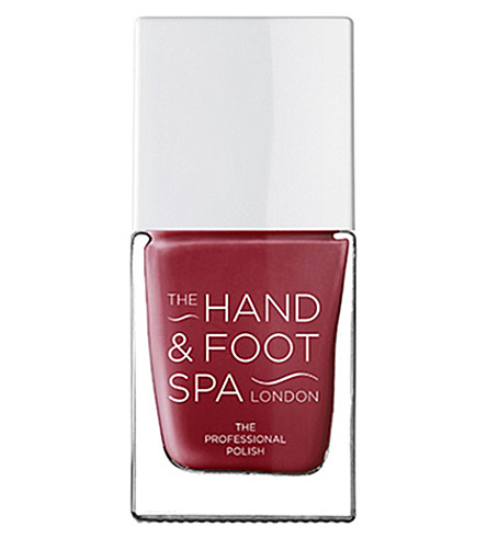 THE HAND AND FOOT SPA Rich Ruby professional nail polish