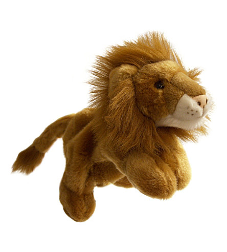 THE PUPPET COMPANY Lion hand puppet