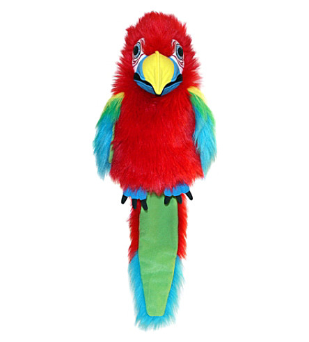 THE PUPPET COMPANY Amazon macaw puppet